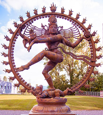 Shiva as Nataraja - the lord of the dance